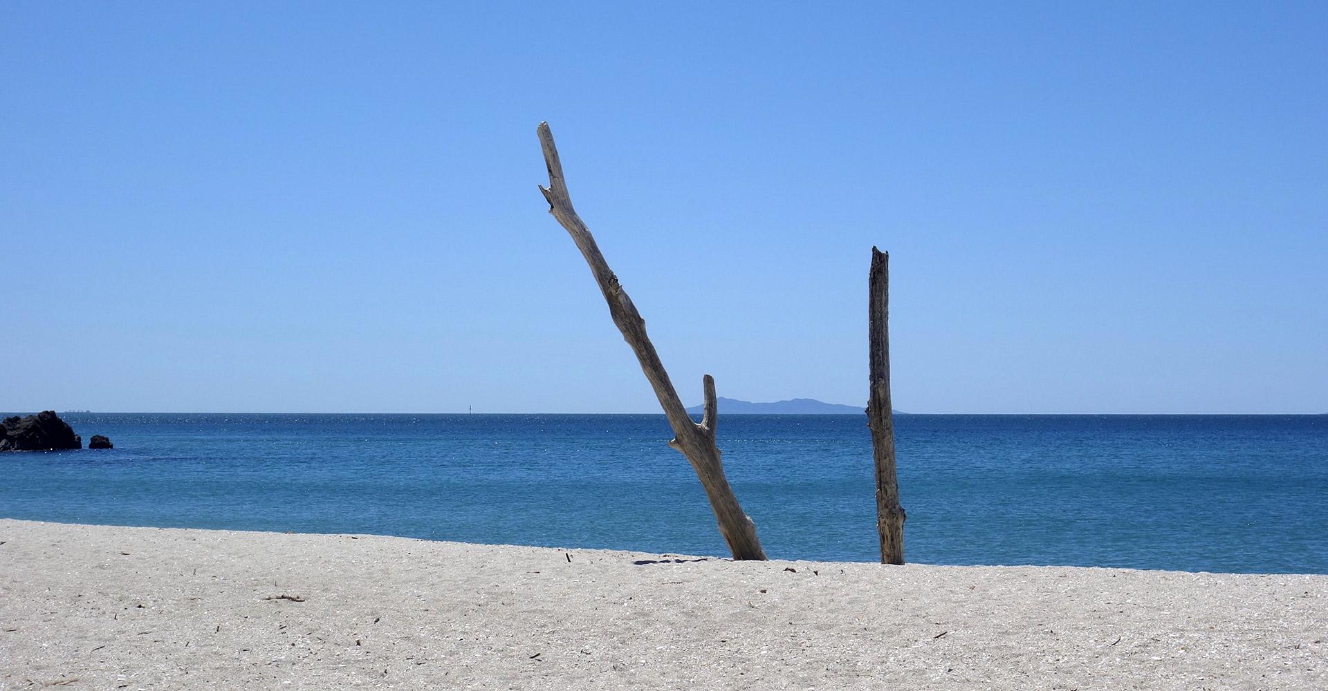 Strand, Meer, Himmel