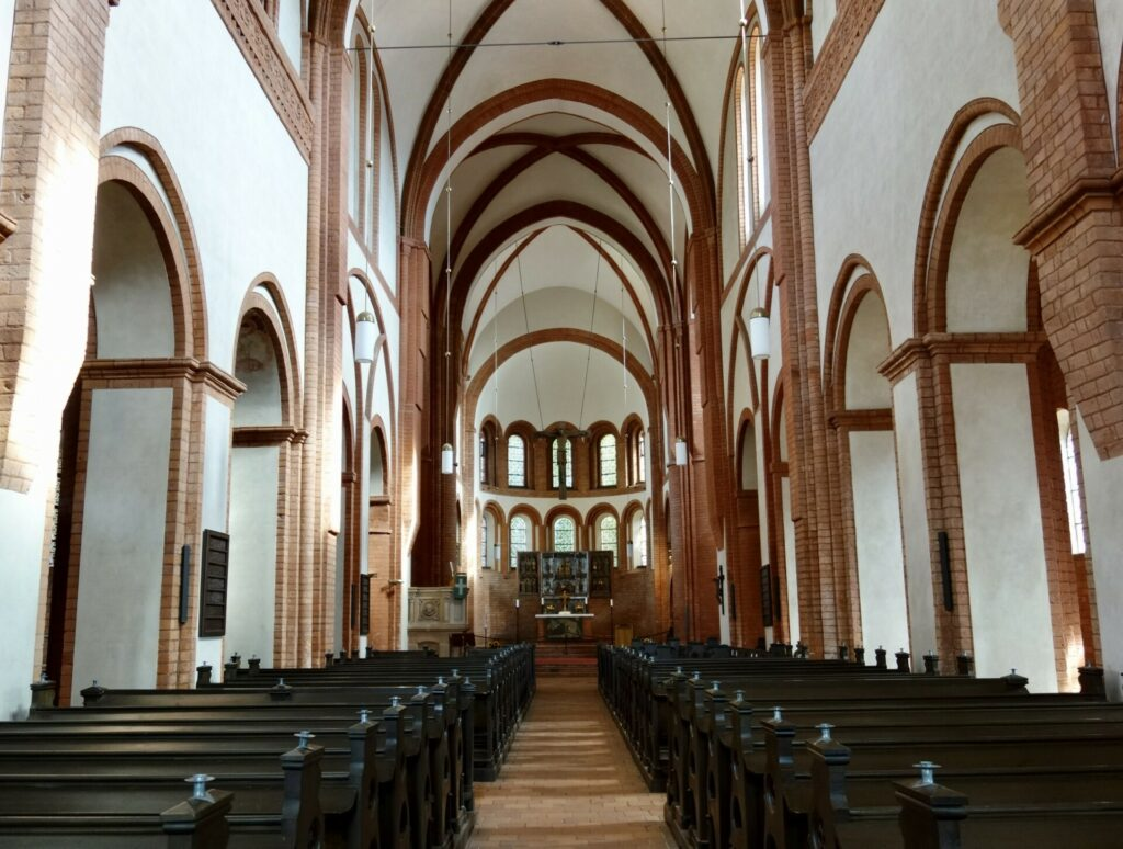 Kirche innen, Kloster Lehnin