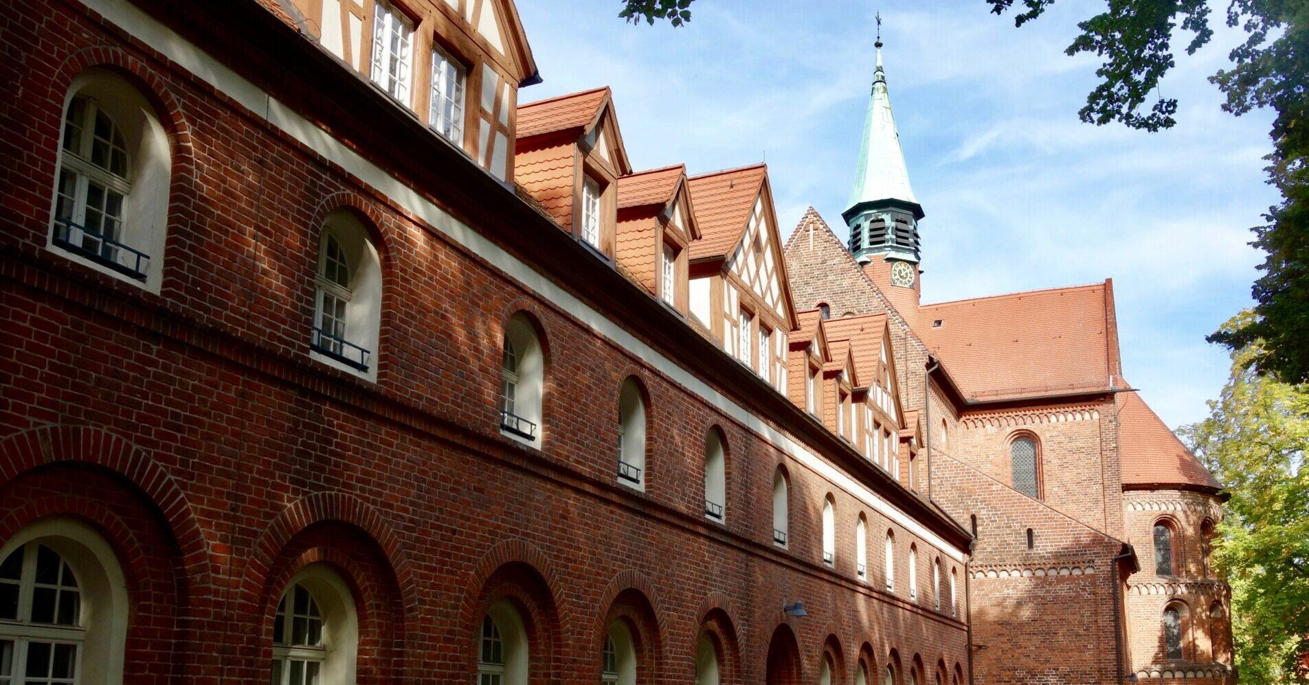 Kloster Lehnin. Seitenblick.