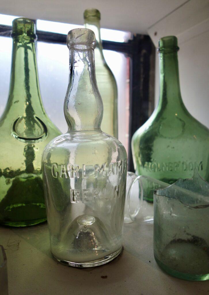 Glasflaschen aus der Produktion in Baruth/Glashütte