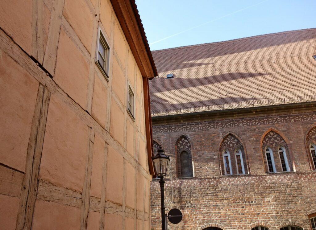 Brandenburg/Havel. Die Altstadt in der alten Stadt.
