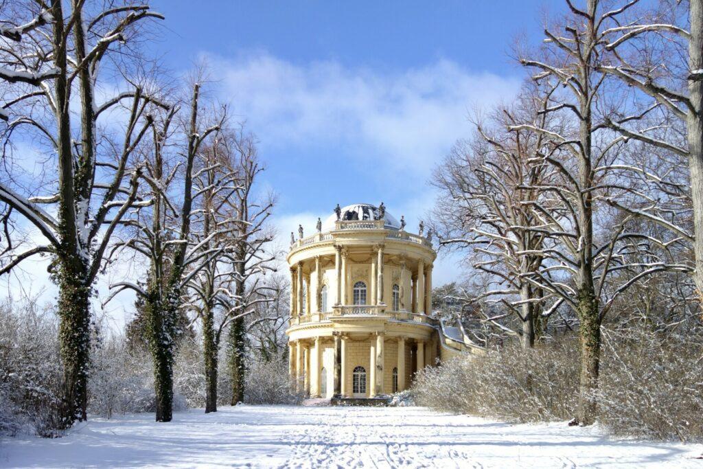 Belvedere im Park Sanssouci im Winter