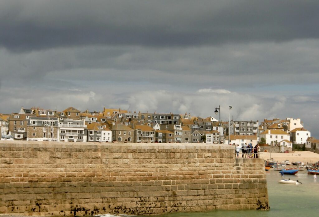 St.Ives mit West Pier