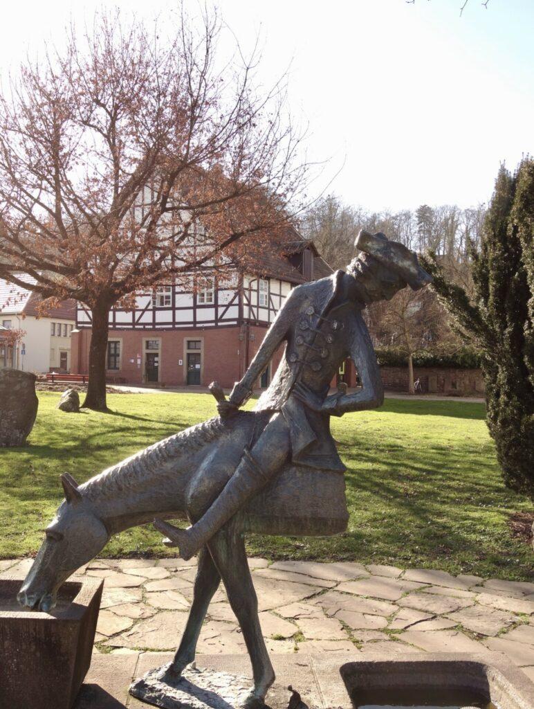 Das halbe Pferd desBaron von Münchhausen, Bodenwerder