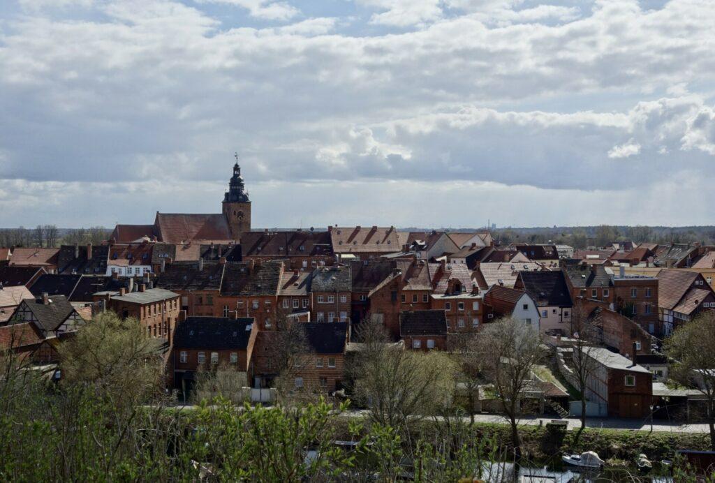 Blick auf die Havelberger Stadtinsel