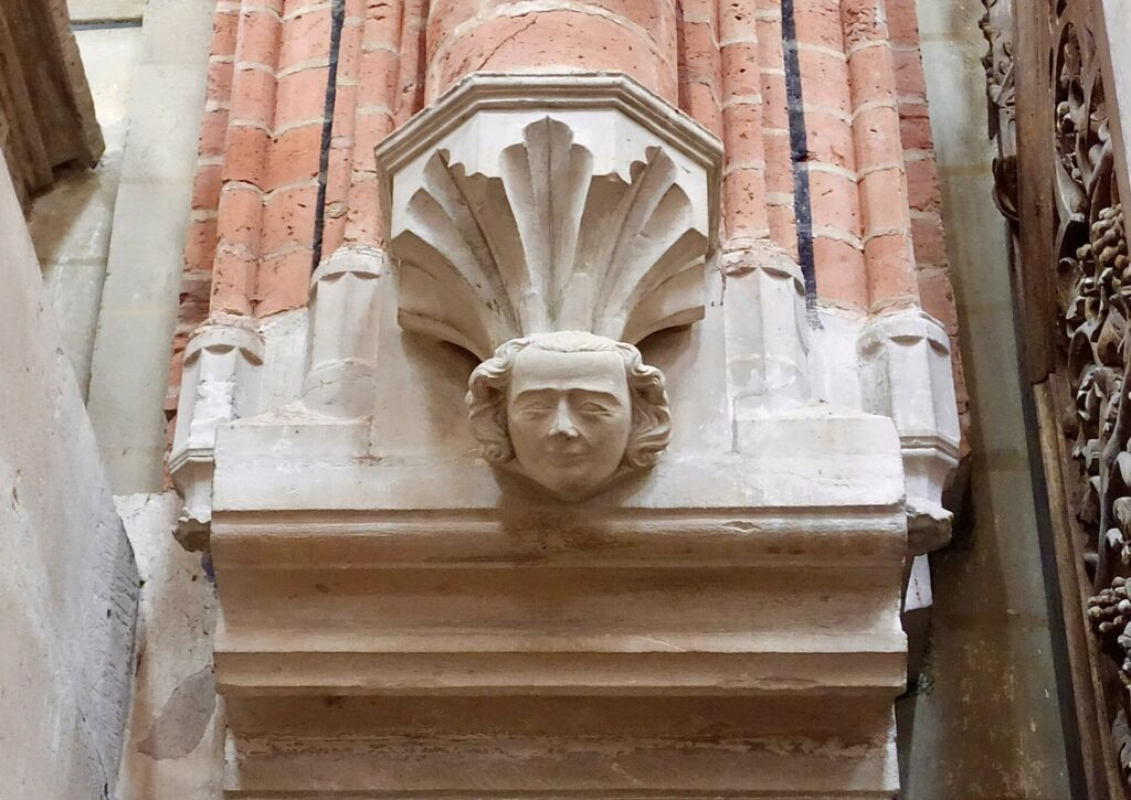 Konsolfigur im Dom zu Havelberg