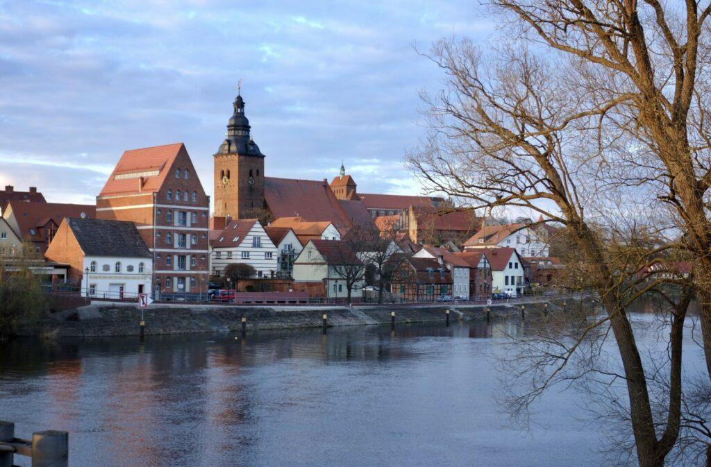 Havel und St. Laurentius in Havelberg