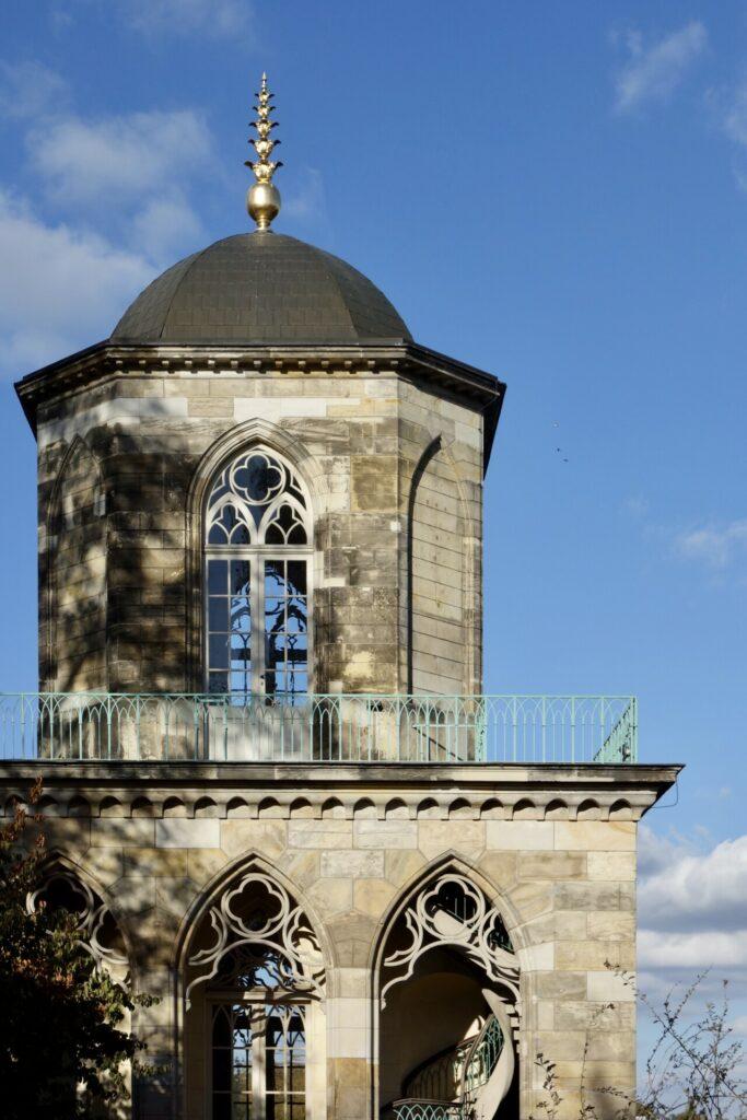 Gotische Bibliothek im Neuen Garten in Potsdam