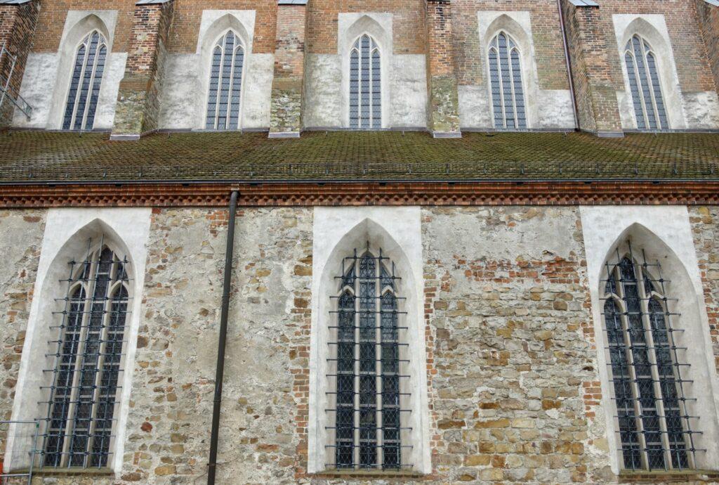 Fassade des Doms in Havelberg