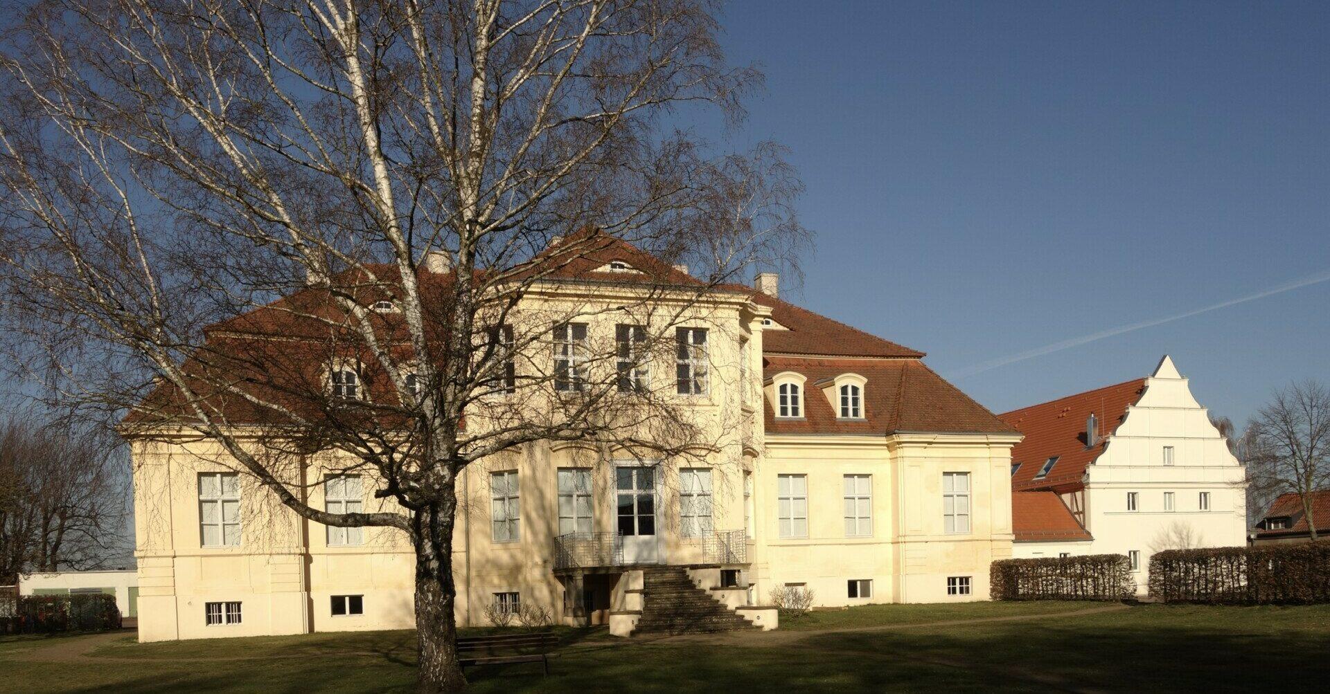 Schloss Reckahn Dorfansicht