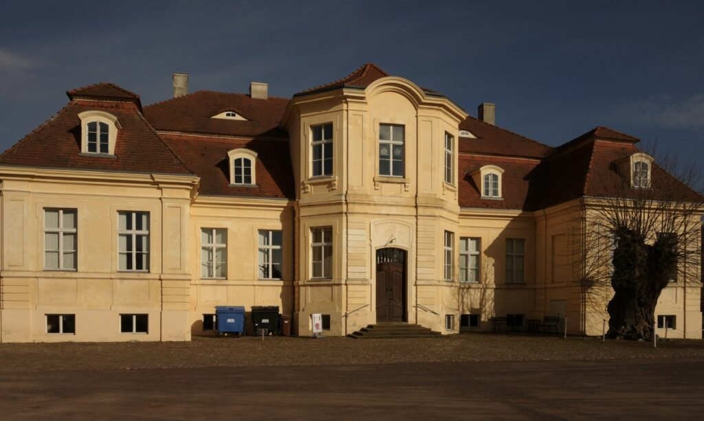Schloss Reckahn Hofansicht