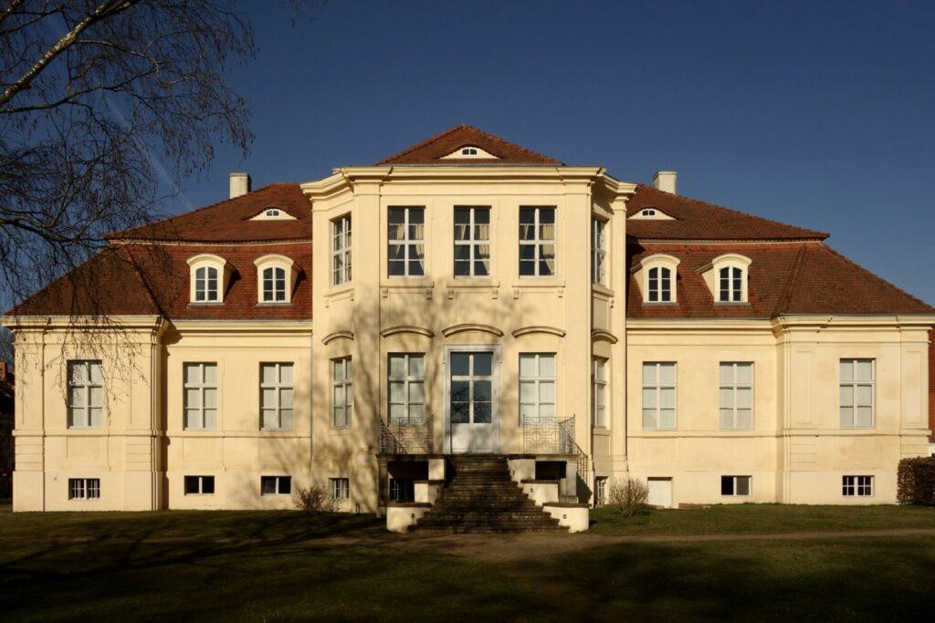 Schloss Reckahn Gartenansicht