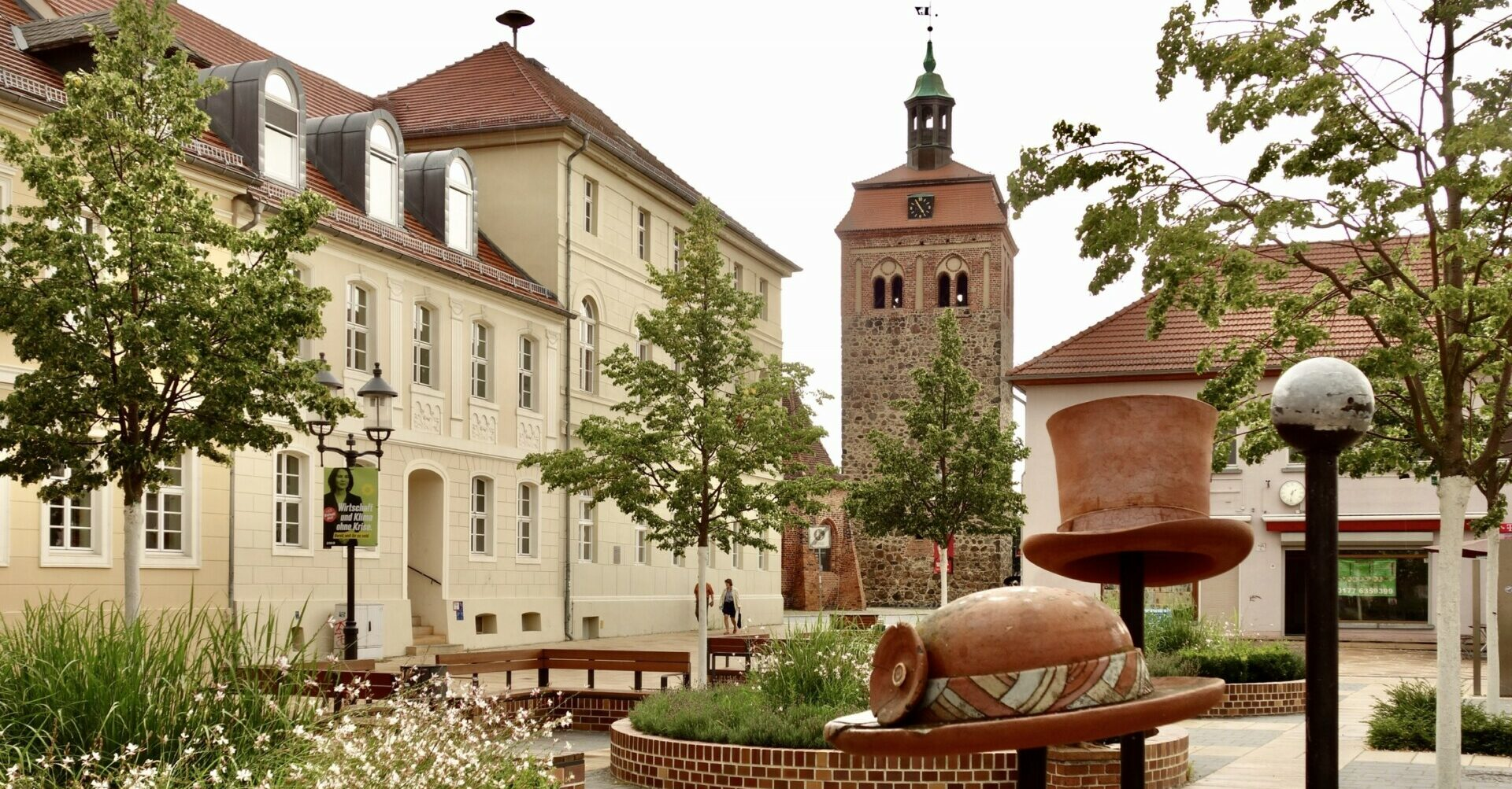 Luckenwalde, Blick auf den Marktturm